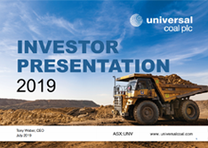 Investor Presentation July 2019 [icon]